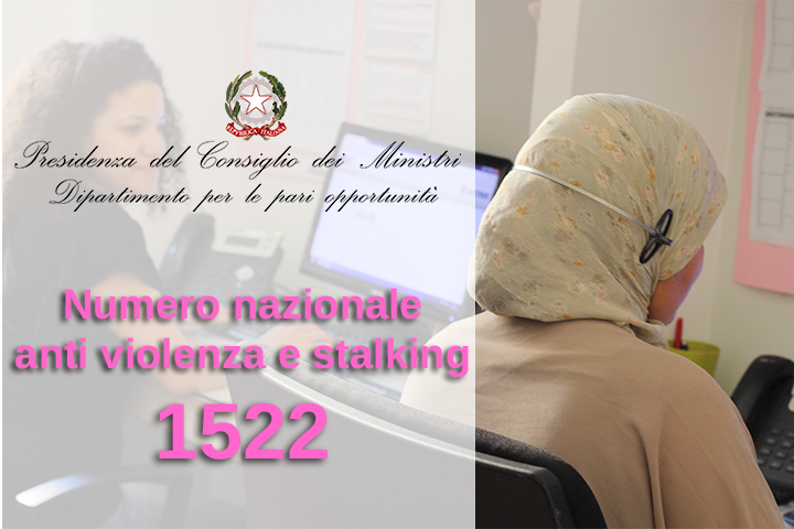 1522 telefono rosa