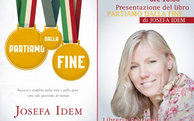 """PRESENTAZIONE DEL LIBRO DI JOSEFA IDEM """"PARTIAMO DALLA FINE"""""""