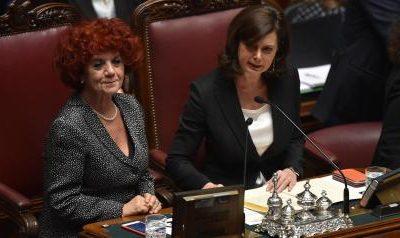 CARE PRESIDENTI VALERIA FEDELI E LAURA BOLDRINI
