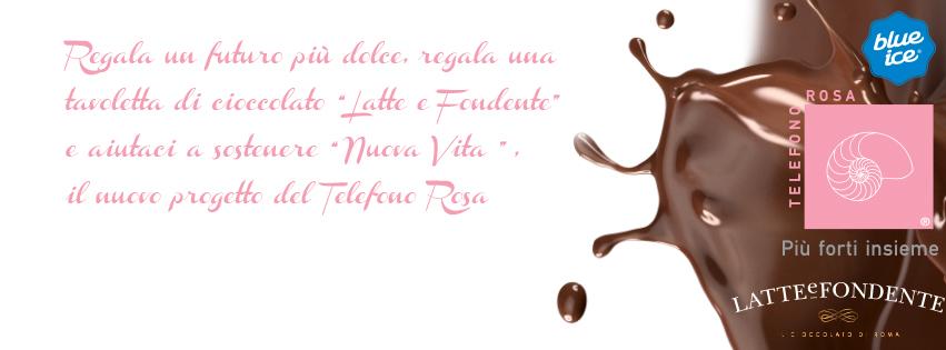 """LA BLU ICE GELATO DOLCE CAFFE' SRLS SI E' IMPEGNATA A SOSTENERE IL PROGETTO """"NUOVA VITA"""" DEL TELEFONO ROSA: VI INVITIAMO A VISITARE IL PUNTO VENDITA DI VIA DEI BAULLARI 141, ROMA"""